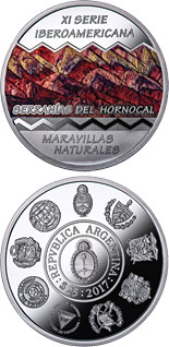 25 peso coin Wonders of nature | Argentina 2017