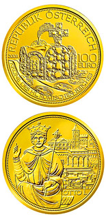 100 euro coin The Crown of the Holy Roman Empire  | Austria 2008