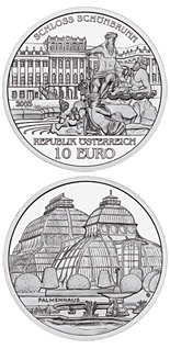 10 euro coin The Palace of Schoenbrunn | Austria 2003
