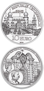 10 euro coin The Castle of Artstetten | Austria 2004