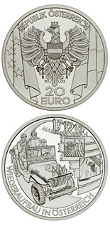 20 euro coin The Post-War Period | Austria 2003
