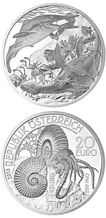20 euro coin Trias - Life in the water | Austria 2013
