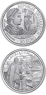 20 euro coin Lauriacum and the Limes | Austria 2012