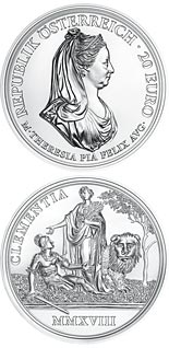 20 euro coin Clemency and Faith | Austria 2018