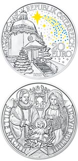 10 euro coin The 200th Anniversary of Silent Night | Austria 2018