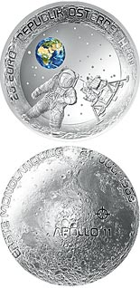 20 euro coin 50th Anniversary of the Moon Landing | Austria 2019