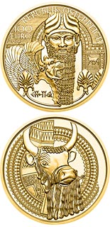 100 euro coin The Gold of Mesopotamia | Austria 2019