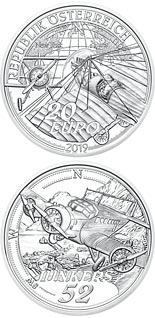 20 euro coin The Advent of Powered Flight | Austria 2019