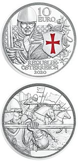 10 euro coin Courage | Austria 2020
