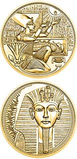 100 euro coin The Gold of the Pharaohs | Austria 2020