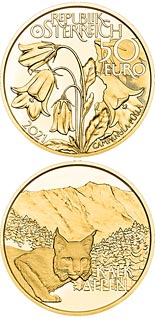 50 euro coin Alpine Forests | Austria 2021