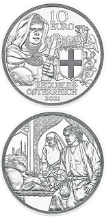 10 euro coin Brotherhood | Austria 2021