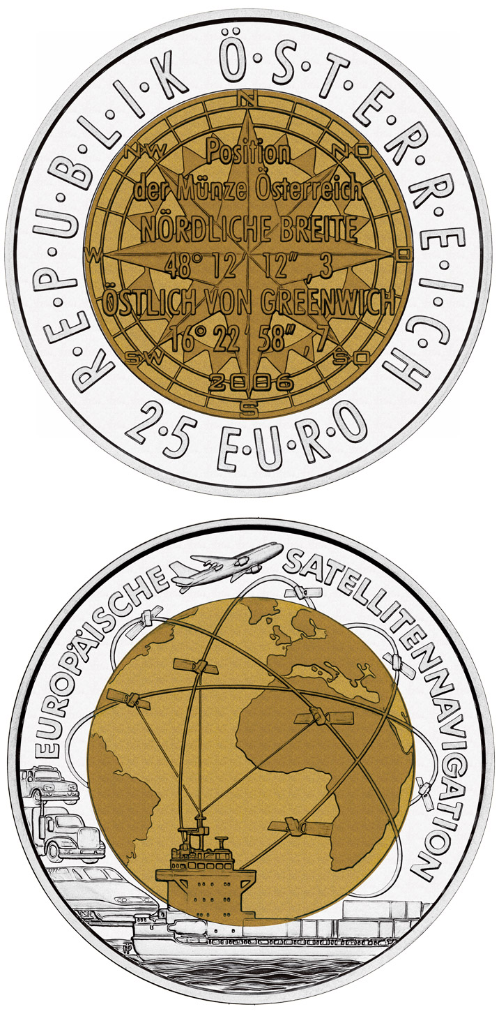 Silver Niobium 25 Euro Coins The 25 Euro Coin Series From