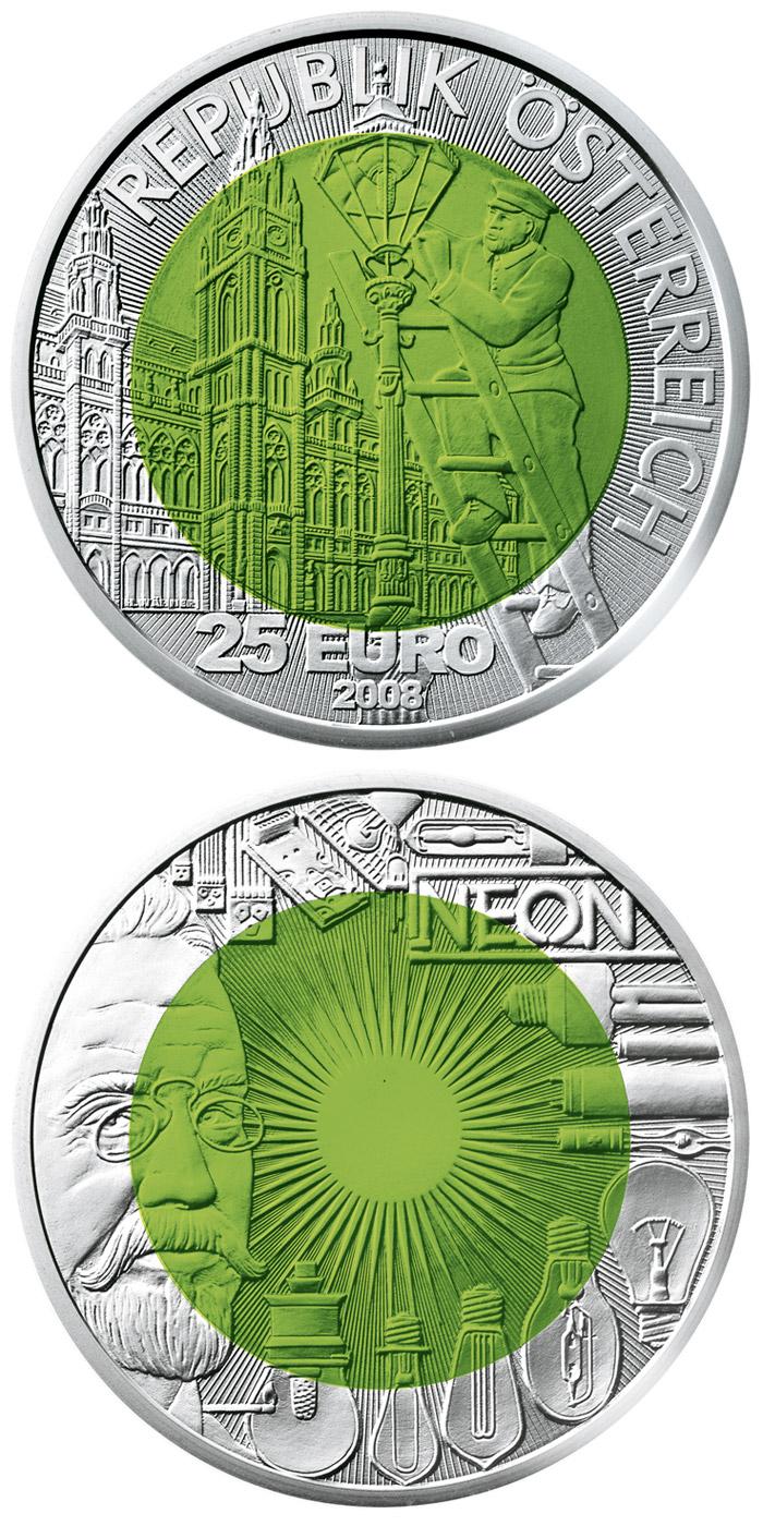 Silver Niobium 25 Euro Coins The 25 Euro Coin Series From