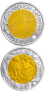 25 euro coin Year of Astronomy | Austria 2009