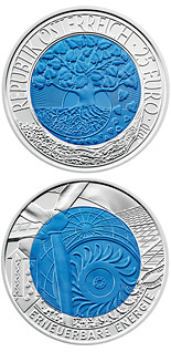 25 euro coin Renewable Energy | Austria 2010