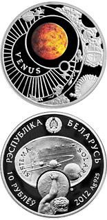 10 ruble coin Venus | Belarus 2012
