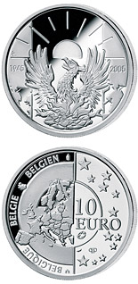 10  coin 60 years Peace and Freedom | Belgium 2005