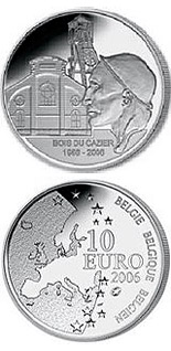10 euro 50th Anniversary of the Mining disaster in Marcinelle - 2006 - Series: Silver 10 euro coins - Belgium