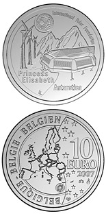 10 euro coin 4. International Polar Year | Belgium 2007