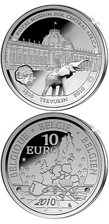 10 euro coin 100 years African Museum | Belgium 2010