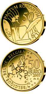 50 euro coin 50 Years Treaty of Rome | Belgium 2007