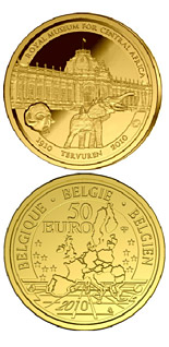 50 euro 100 years African Museum - 2010 - Series: Gold 50 euro coins - Belgium