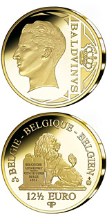 12.5 euro coin King Baldwin | Belgium 2010