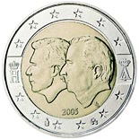 2 euro coin Belgium-Luxembourg Economic Union | Belgium 2005