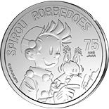 5 euro coin 75 years of Spirou | Belgium 2013