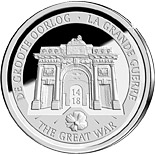 10 euro coin 100 Years After the Beginning of the First World War | Belgium 2014