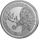 10 euro 70 years of Peace in Europe - 2015 - Series: Silver 10 euro coins - Belgium