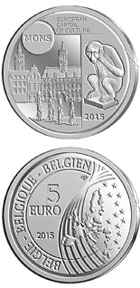 5 euro coin Mons – European Capital of Culture | Belgium 2015