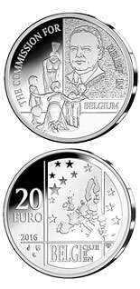 20 euro coin The Commission for Relief in Belgium | Belgium 2016