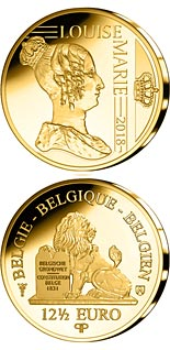12.5 euro coin Louise of Orléans | Belgium 2018