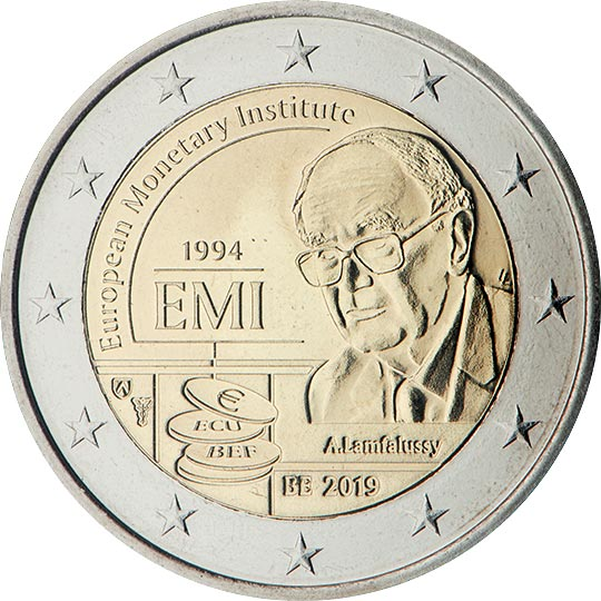 Commemorative 2 euro coins. The 2 euro coin series 2019