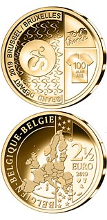 2.5 euro coin Start of Tour de France in Brussels | Belgium 2019