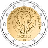 2 euro coin International Year of Plant Health | Belgium 2020