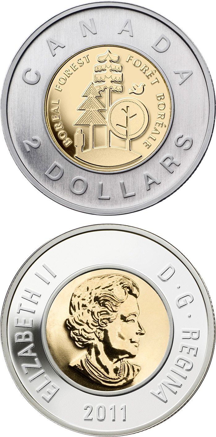 Commemorative Toonies The 2 Dollars Coin Series From Canada