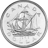 1 dollar coin Newfoundland's accession to Canada | Canada 1949