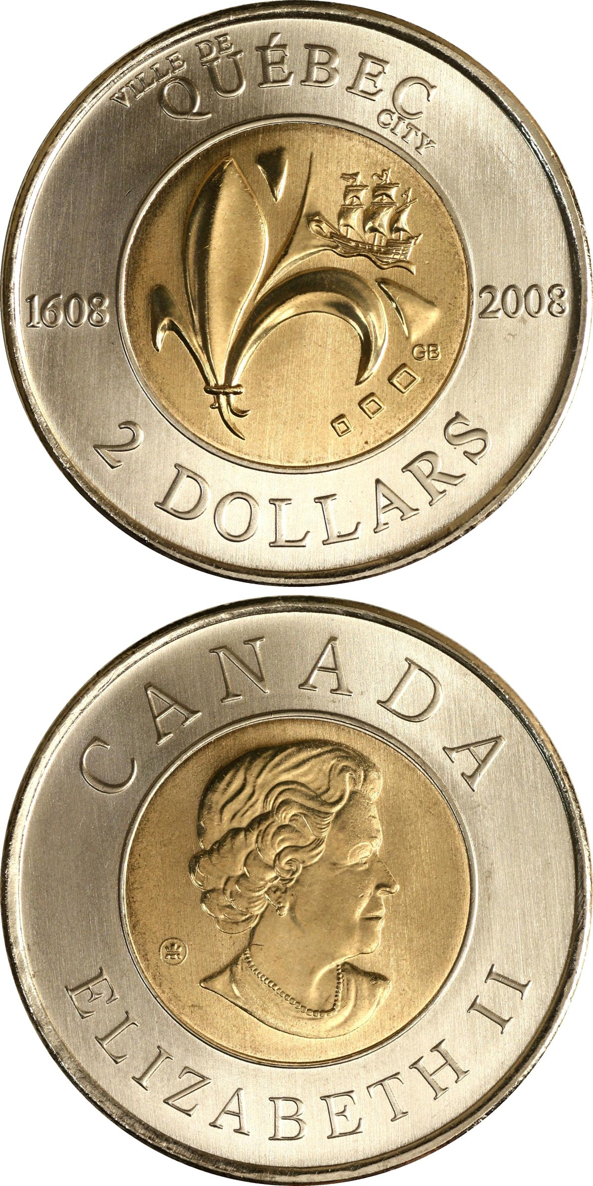 1999 Nunavut Province Toonie 2$ Canada dollar coin +Combined shipping