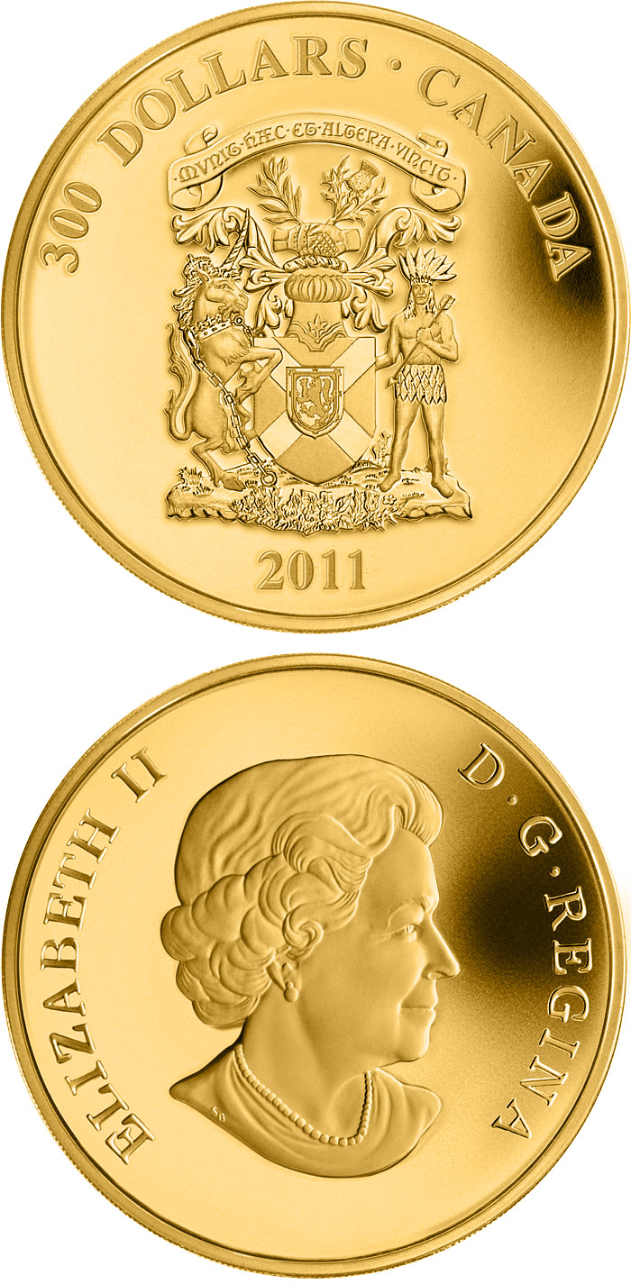 coat of arms canada coin series collector coin database