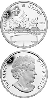 10 dollar coin Highway of Heroes | Canada 2011
