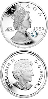 20 dollar coin The Queen's Diamond Jubilee | Canada 2012