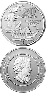 20 dollar coin The Maple Leaves | Canada 2011