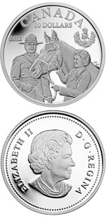 20 dollar coin The Queen's Visit to Canada | Canada 2012