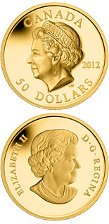 50 dollar coin The Queen's Portrait | Canada 2012
