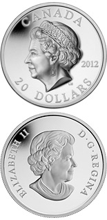 20 dollar coin The Queen's Portrait | Canada 2012