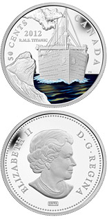 50 cents 100th Anniversary of the Sinking of the RMS Titanic - 2012 - Canada