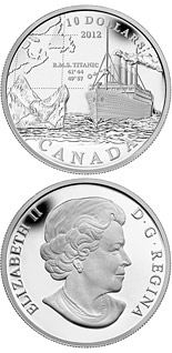 10 dollars 100th Anniversary of the Sinking of the RMS Titanic - 2012 - Canada